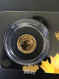 1/10 oz 2016 Growling Cougar 9999 Gold Coin 3.11 Grams