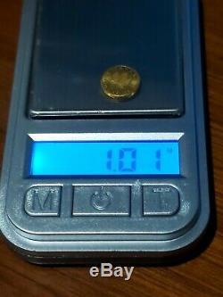 1 Gram Fine Gold. 999 Canada'MapleGram' 50c Coin PURE GOLD