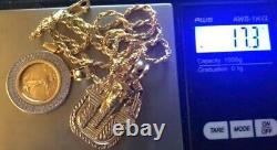 10k gold jewelry Pendants 17 Grams Yellow Gold Liberty Coin Pendant