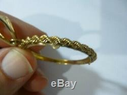 14K Coin Bezel for $20 Gold Liberty Head coin Nice Rope Edge 6.57 Grams