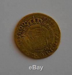 1811 SPAIN Fernando VII 1 Escudo Madrid Gold Coin 3.2 gram Ferdinand España