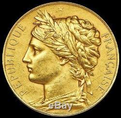 1878 Gold Republic France 83.25 Gram Universal Exposition Award Medal Paris Mint