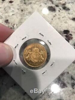 1905 Kb Gold Hungary 10 Korona 3.3875 Grams Emperor Franz Joseph Coin