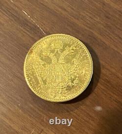 1915 3.5 Grams Of GOLD AUSTRIAN 1DUCAT BU PROOFLIKE