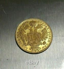 1915 Austria Gold Ducat Restrike 3.49 grams 0.11 oz AU/UNC 986