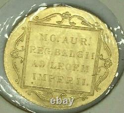 1928 NETHERLANDS Gold 1 Trade Ducat 3.5 grams Coin