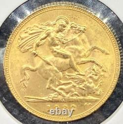 1932-SA British Gold Sovereign SOUTH AFRICA 8.01 Grams Lustrous BU Coin