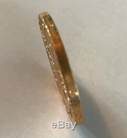 1947 Mexico Gold 50 Pesos BU 1.2 Oz 37.5 Grams GOLD Bullion Coin
