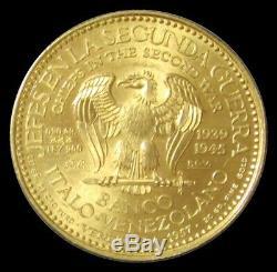 1957 Gold Venezuela China Chiang Kai Shek 22.2 Gram Chiefs World War II