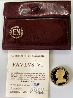 1963 Gold Vatican Proof 10 Grams Pope Paul VI Coronation