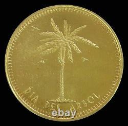 1974 Gold Venezuela 21.5 Gram Grupo Covenal Mariara 15 Years Anniv. Arbor Day