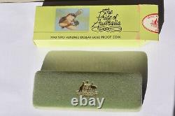 1990 $200 Gold Proof Coin Platypus + Display Box + Certificate 10grams 22K
