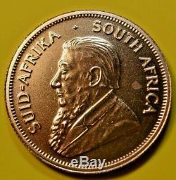1993 South Africa 1 oz. Kruggerand Gold Bullion Round 33.93 grams