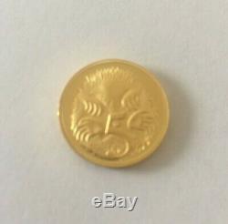 2005 Australia 0.999 24 ct Bullion 5c Perth Mint Limited Ed Gold Coin 6 grams