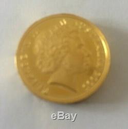 2005 Australia 0.999 24ct Bullion $1.00 Perth Mint End of WW11 Coin 21.5 Grams