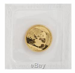 2017 10 Yuan 3 gram Gold Chinese Panda. 999 fine Sealed Plastic