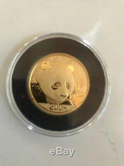 2018 1/2 Ounce (15 Gram) Gold Panda Coin