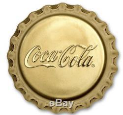 2018 Fiji 12 gram Gold Coca-Cola Bottle cap Proof Coin