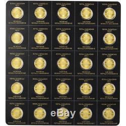 2019 25x1 gram Gold Maplegram25 RCM Royal Canadian Mint. 9999 Fine in Assay