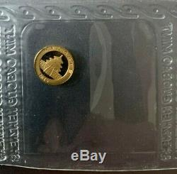 2019 Chinese Panda 1 Gram. 999 Gold 10 Yuan FV Mint Sealed Limited BU Coin