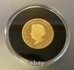 2019 Premium Gold Proof Sovereign Set 4 Coin Limited Edition 30grams 22ct Boxed