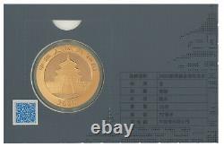 2020 CHINA Panda Gold 30g gram 500 Yuan coin Sealed Assay Card
