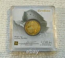 2020 Geiger 1 Gram Gold Noahs Ark Low Mintage, First Year of Issue