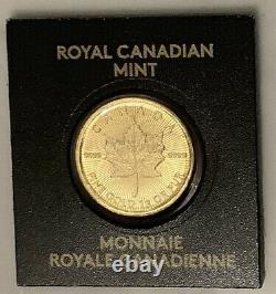 2020 Gold 1 Gram MAPLEGRAM 50 Cent Coin 9999 Gold Bullion -Royal Canadian Mint