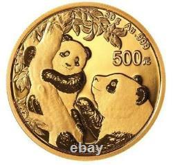 2021 Chinese Gold Panda 30 Gram Coin