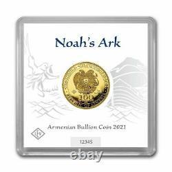 2021 Geiger Noah's Ark 1 Gram Gold Armenia BU in Assay