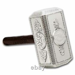 2021 Solomon Islands 500 gram Silver Thor's Iconic Hammer SKU#232736