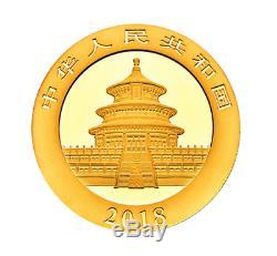 3 Gram Gold 2018 Chinese Panda coin