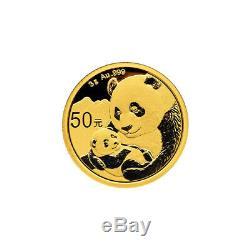 3 gram 2019 Chinese Panda Gold Coin