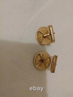 $5 Liberty Head Gold Coin Cufflinks 1880 & 14k Gold 25.6 grams us pat
