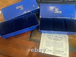 6 IM Mint 1/2 Gram 14k Gold Miniature Coins Lot 5 Krugerrands & Maple Leaf