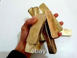 700 Grams Scrap gold bar for Gold Recovery Melted Different Computer Coin Pins