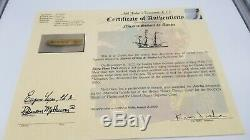 Atocha Gold Bar 85A-2868 697.3 grams Treasure Escudos Fleet by Shipwreck Coins