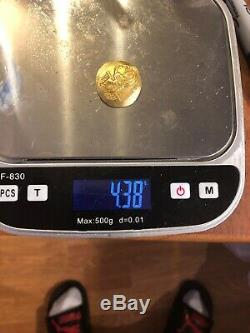 Byzantine Gold Coin John III Ducas-Vatatzes, AV hyperpyron 4.37grams