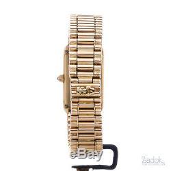 Corum Rectangular Coin Watch 0.5 Grams Yellow Gold Manual Winding 17x27mm