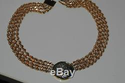 Estate Ancient Coin Gold Necklace Vintage 153 Grams