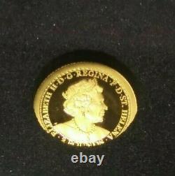 FLASH SALE 2020 Una and the Lion 1/2 gram Gold Proof Coin Box & COA