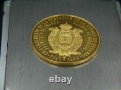 Gold Coin Mexico Durango's 4o. Centennial Medal 1563-1963 37 Grams Pure Gold