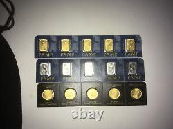 Gold and platinum bars/coins15 grams total. (10 gold/5 platinum) Free shipping