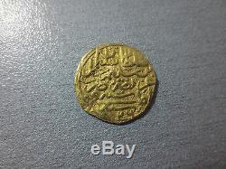 LARGE ANTIQUE OTTOMAN GOLD TURKISH TURKEY ISLAMIC COIN VERY RARE 3.45gram