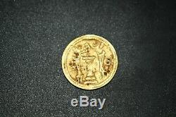 Lovely 100% Authentic Rare Ancient Sasanian Gold Coin Weighing 4.2 Grams