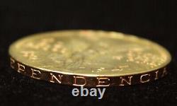 Mexico 1947 Gold 50 Pesos Centenario Coin, 37.5 Grams of Pure Gold 1.2057 AGW