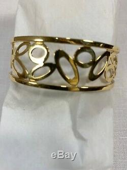 Roberto Coin Cuff 18k Chic and Shine Bracelet 22 grams