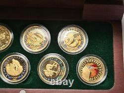 Sydney Olympics 2000 $100 8 x Gold Coin Set 80 grams total weight