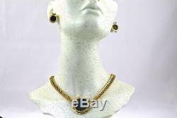 Unoaerre Italian 18K Yellow Gold Ancient Roman Coin Necklace, 16 L, 60 Grams
