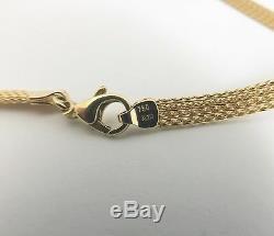 Vintage Greek Coin Diamond Sapphire Pendant Necklace, 18K Yellow Gold, 34 Grams